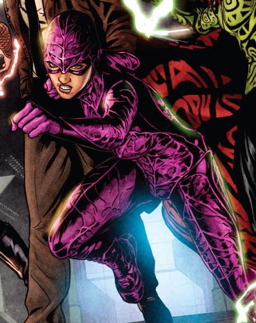 Alba Garcia (aka Black Orchid), a member of Justice League Dark