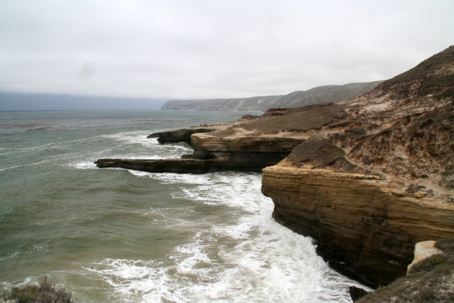 Santa Rosa Island - home to Caloplaca obamae (photo credit: wikimedia commons)