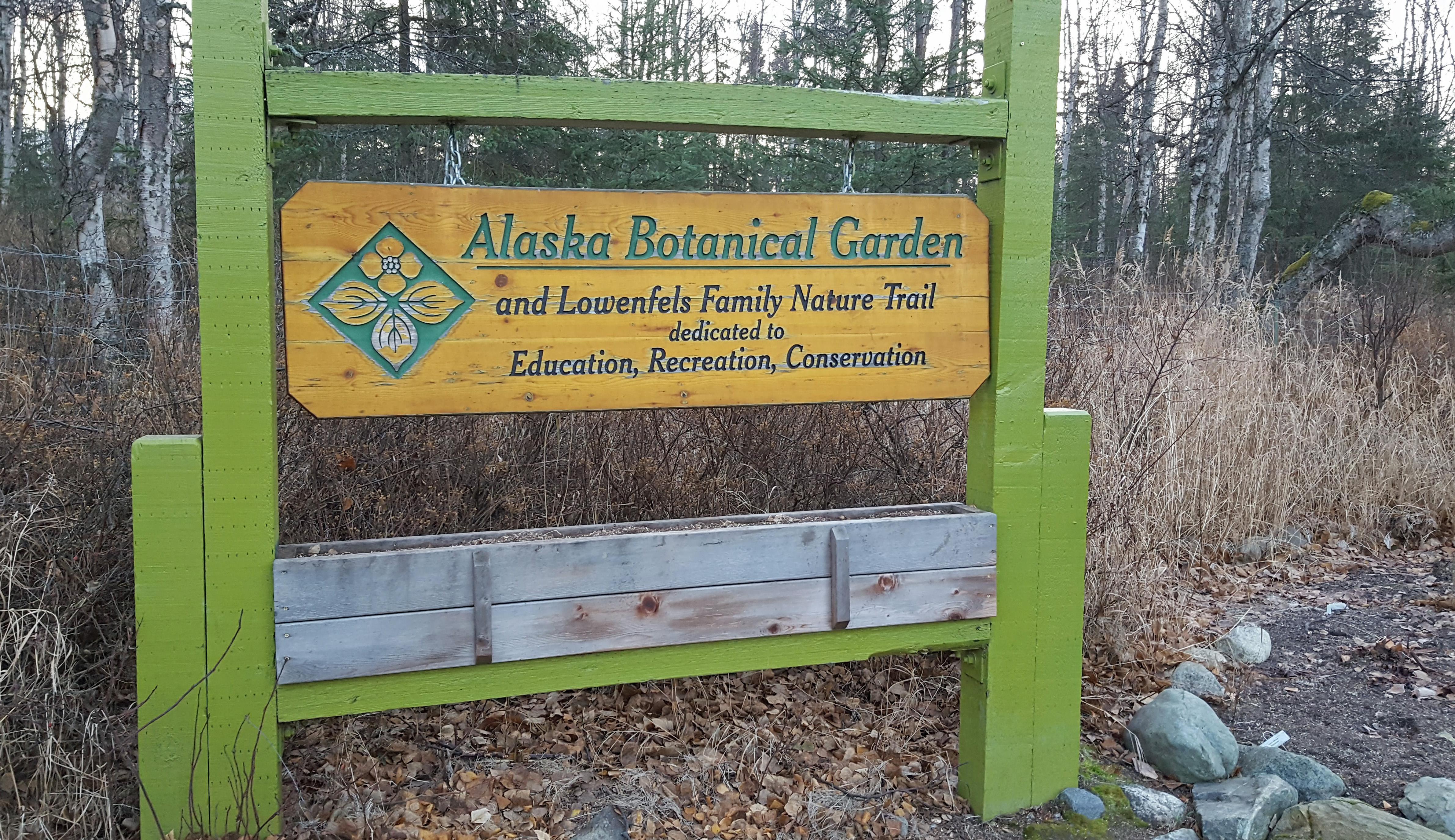 Field Trip: Alaska Botanical Garden